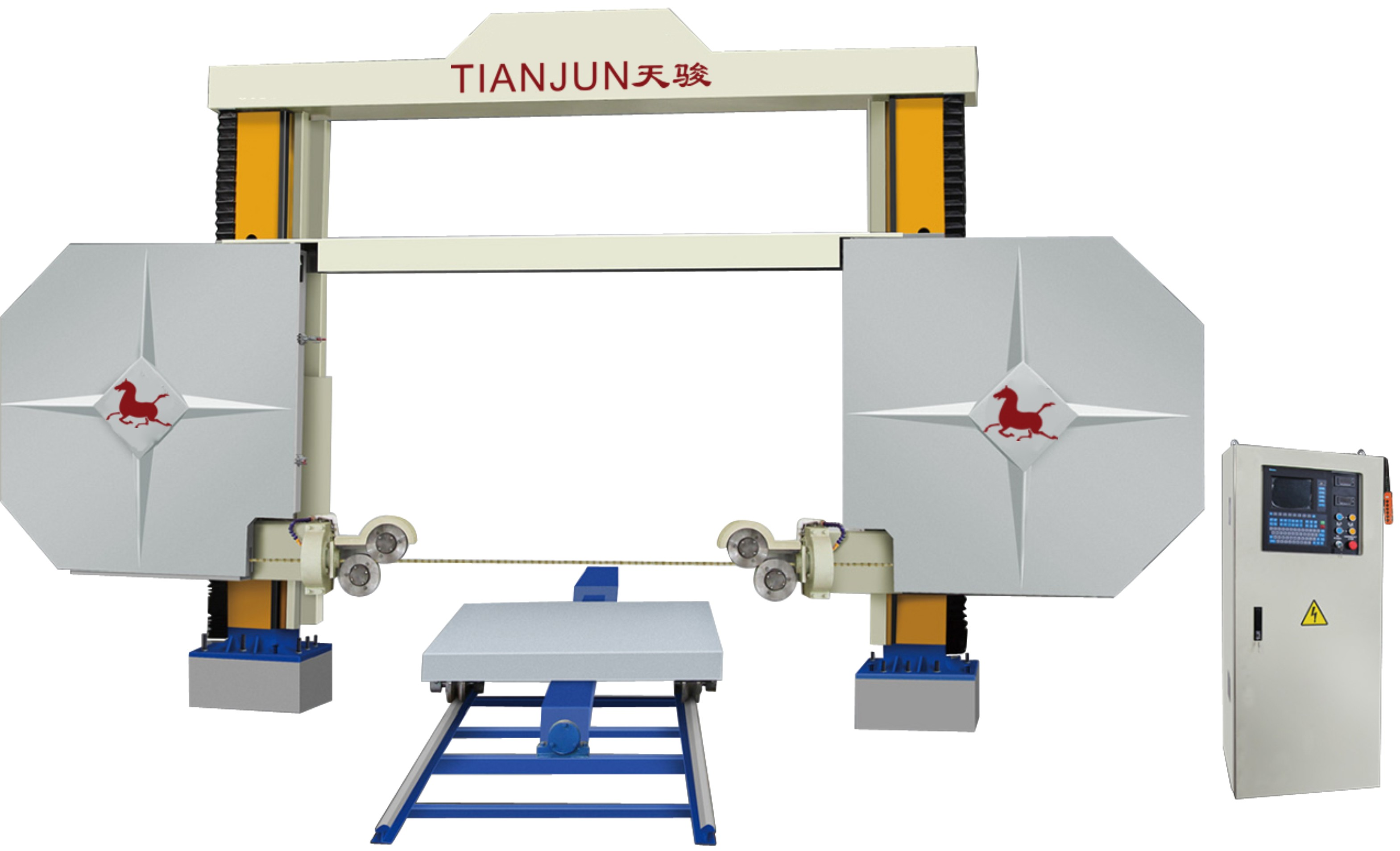 TJXJ Series Numerical Control Wire Saw Machine-products-XIAMEN ...